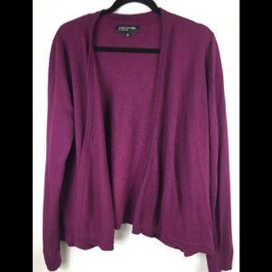 Jones New York wool blend cardigan size XL